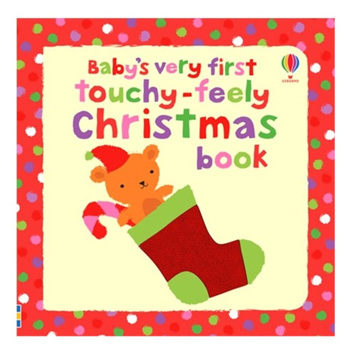 Baby's Very First Touchy-Feely Christmas Board Book