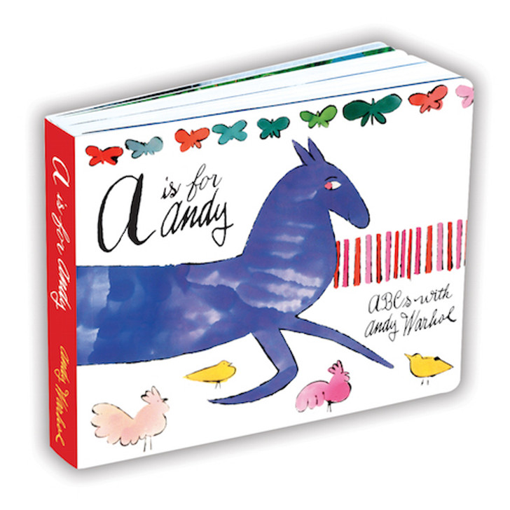 Andy Warhol: A Is for Andy ABC's Board Book