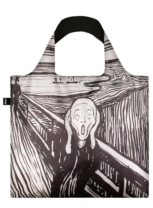 The Scream, Munch Tote Bag with Pouch