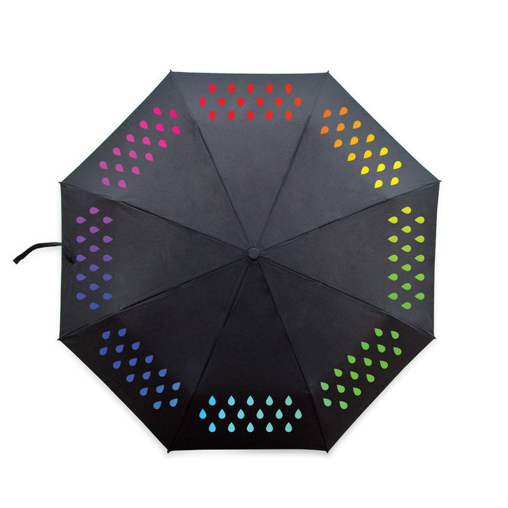 Color Changing Folding Umbrella