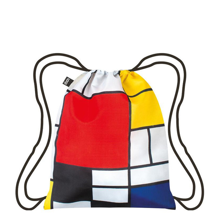 Mondrian Drawstring Backpack
