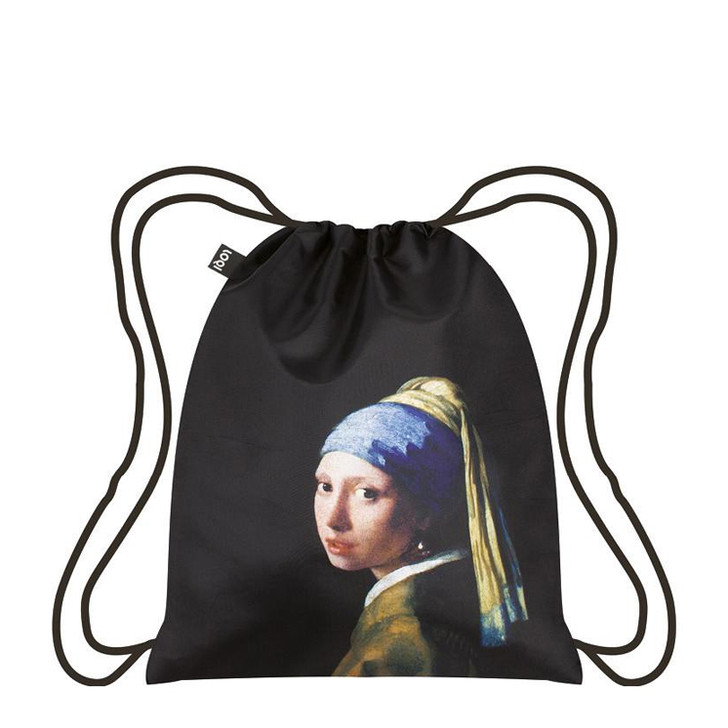 Vermeer, Girl with a Pearl Earring Drawstring Backpack