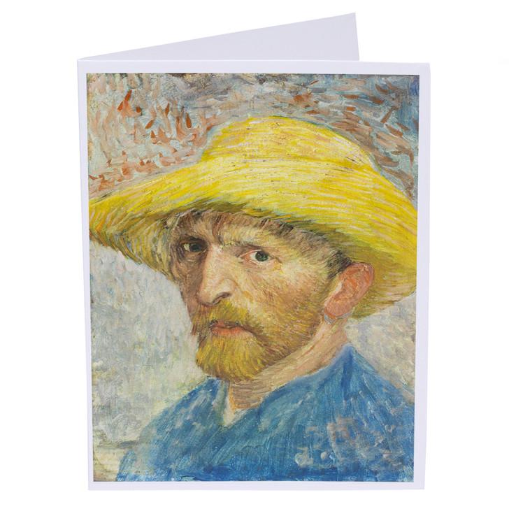 Vincent van Gogh Self-Portrait Single Note Card