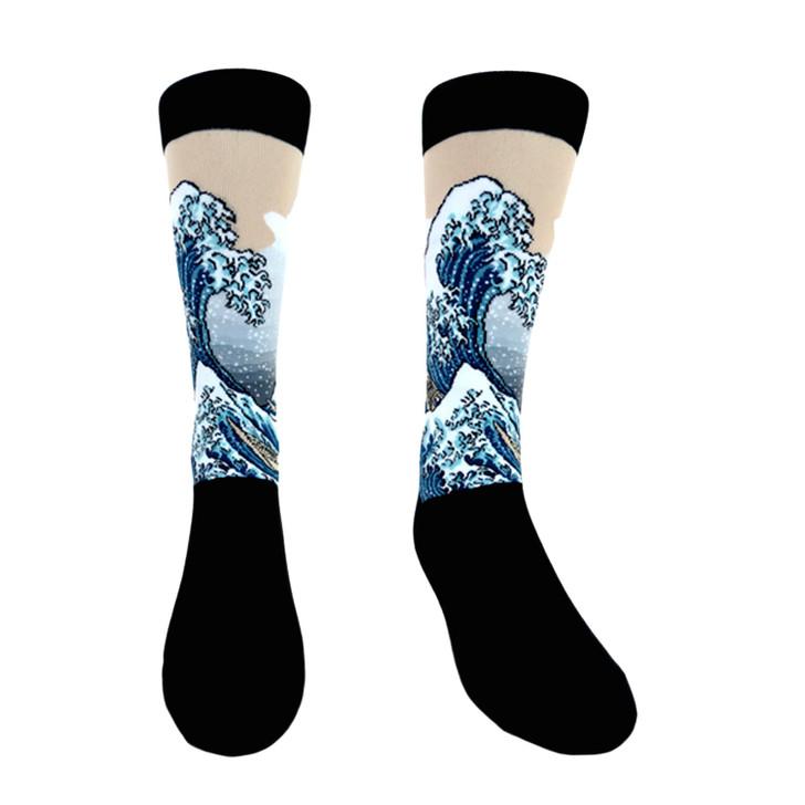 Great Wave 1831, Hokusai Socks