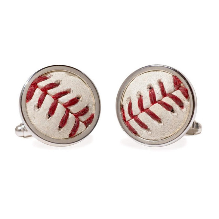 Detroit Tigers Authentic Game Ball Cuff Links