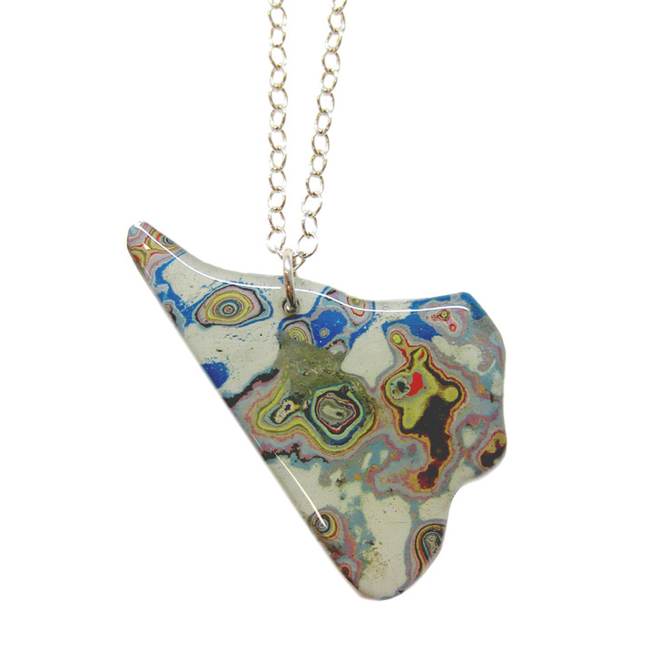Rebel Nell Graffiti Pendant Necklace Riverfront