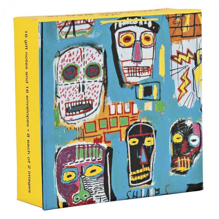 Basquiat Mini Fliptop Boxed Gift Notecards