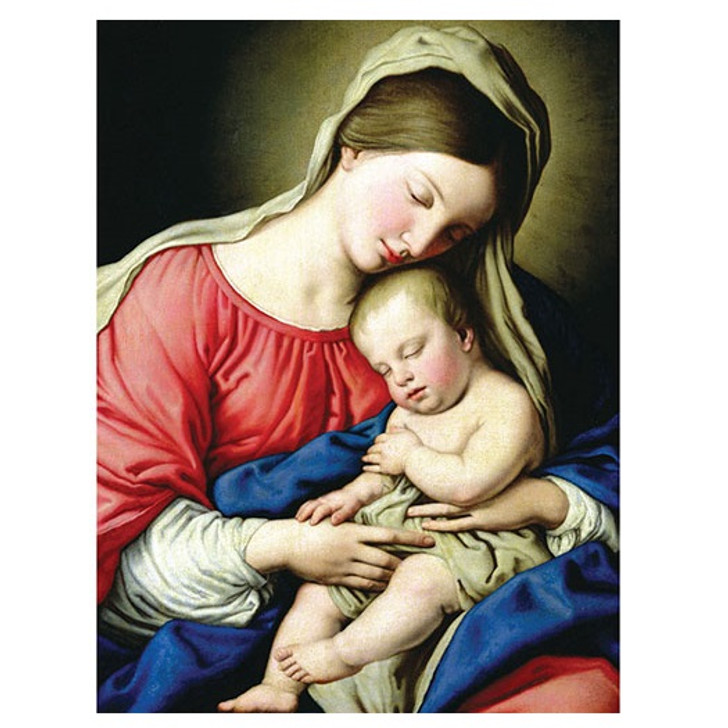 Virgin and Child Holiday Cards