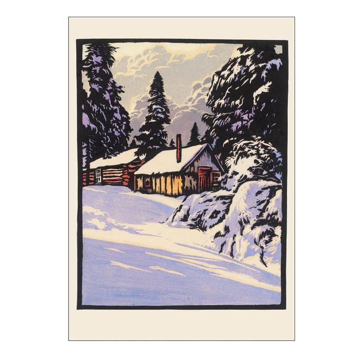 William Rice Silver Silence Boxed Holiday Cards