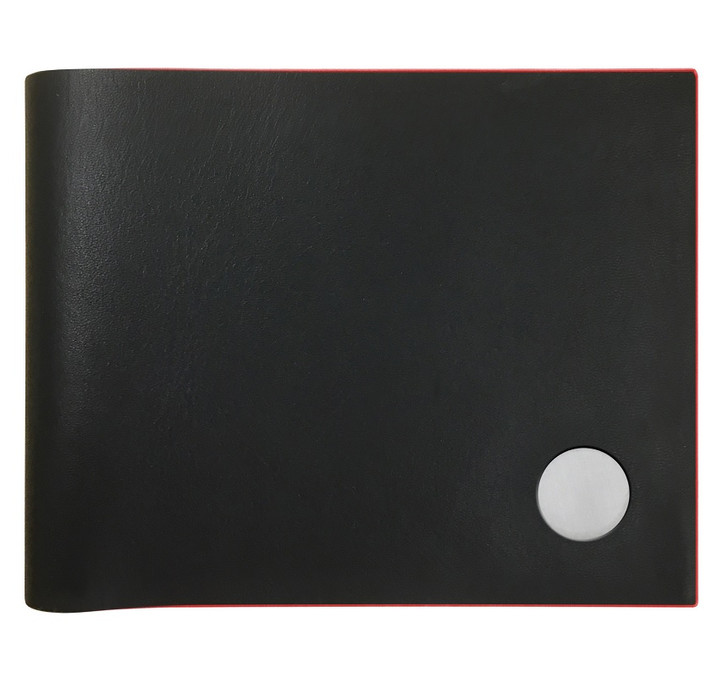 Slimfold Wallet Black with Red Edge