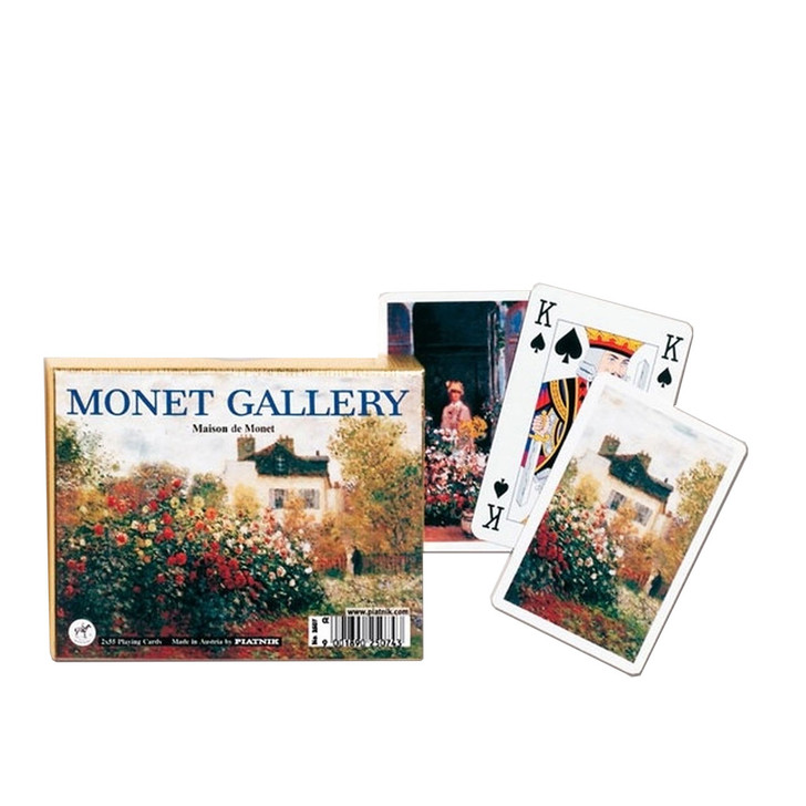 Monet's Maison de Monet Playing Cards Double Deck
