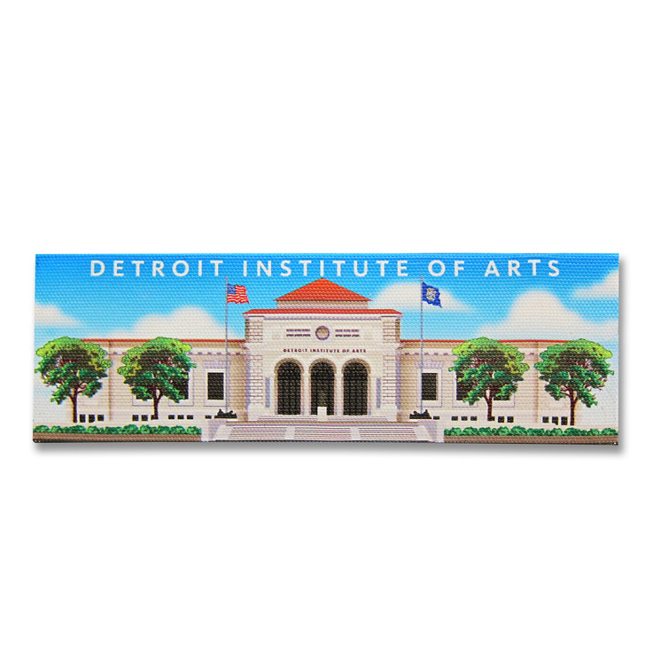 Detroit Institute of Arts Building Wrap Canvas Magnet