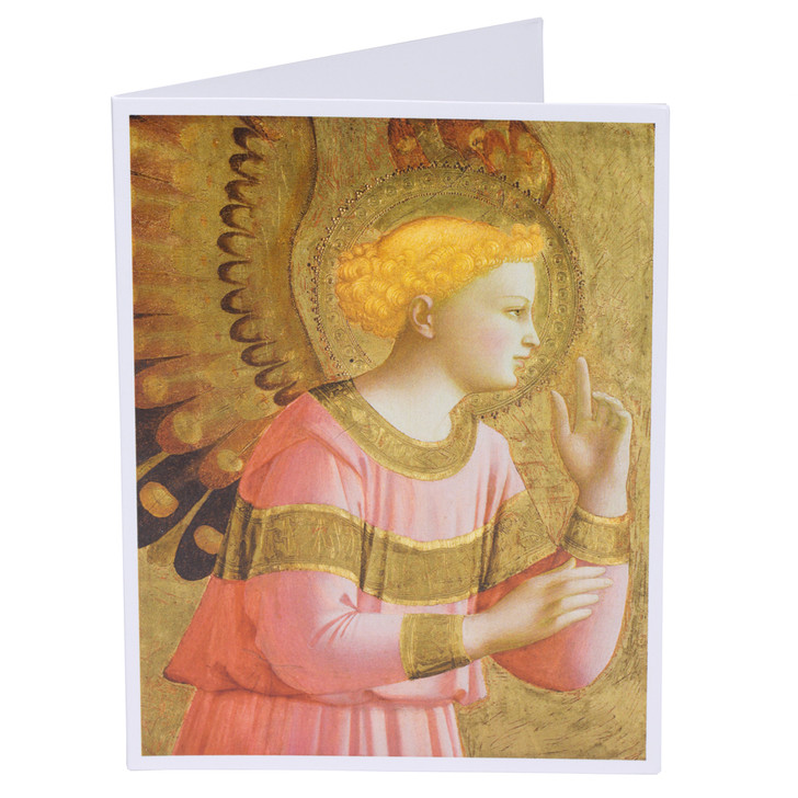 Fra Angelico Annunciatory Angel Single Note Card