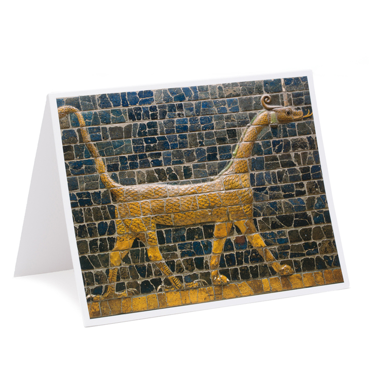 Mushhushshu Dragon Single Note Card