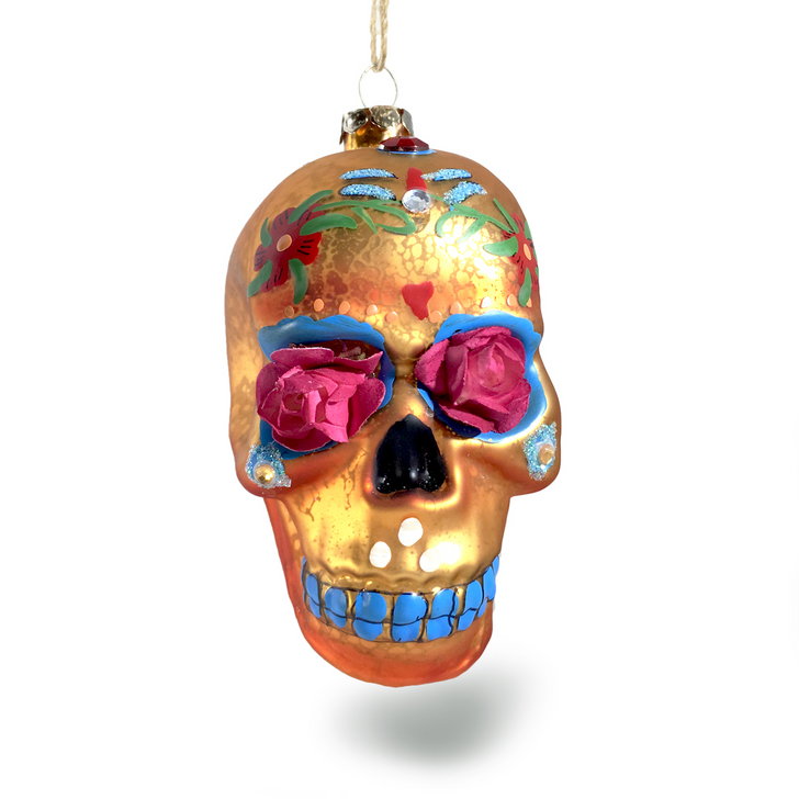 Day of the Dead Flower Skull, Assorted Colors