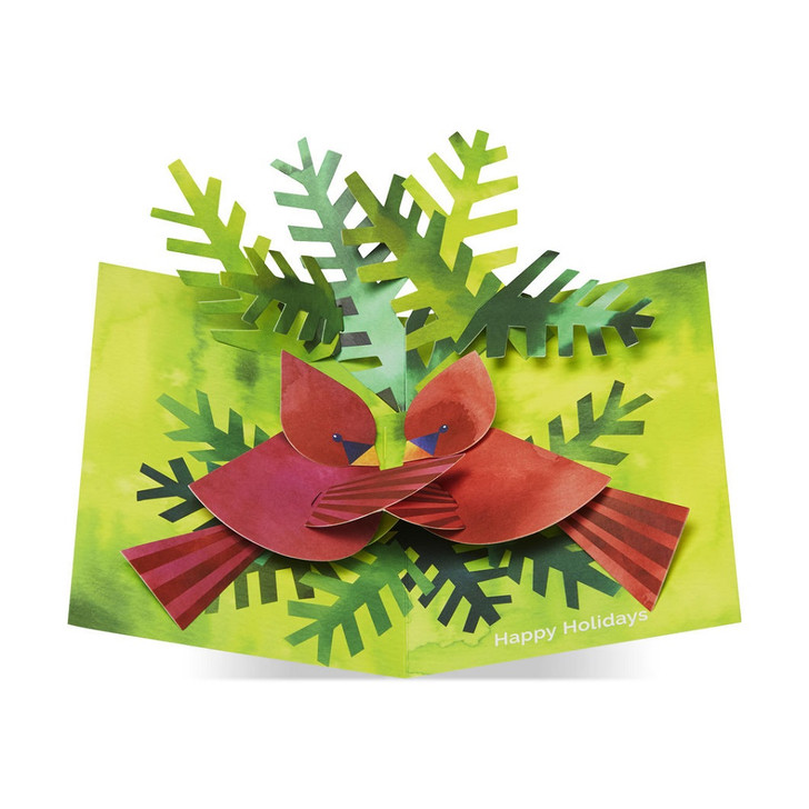 Nestling Cardinals Holiday Cards