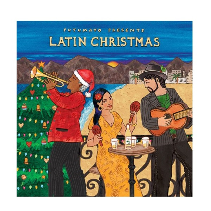 Latin Christmas Holiday Music CD