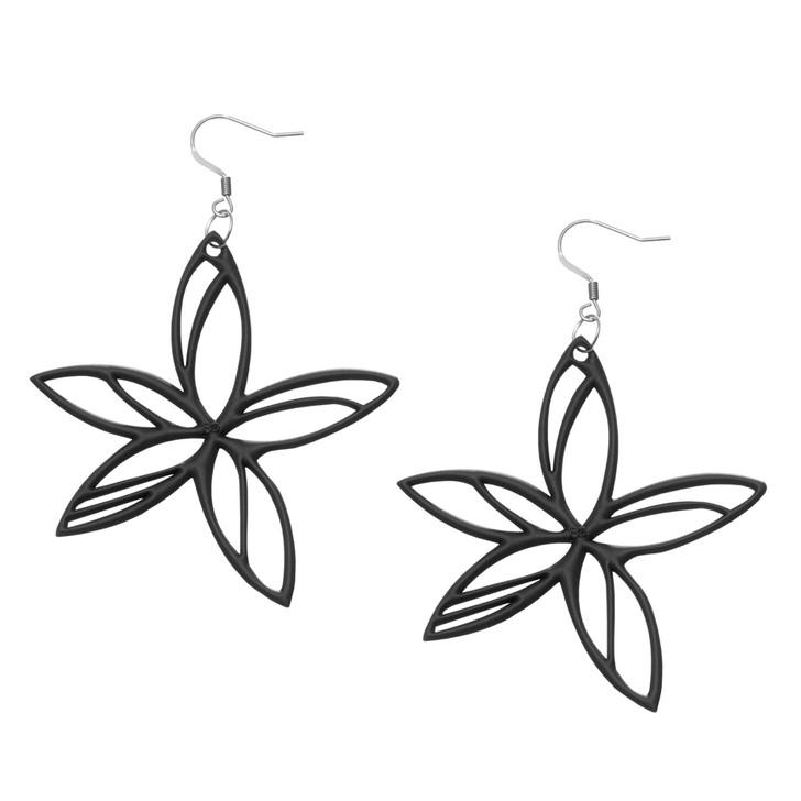 Hawaii Earrings in Black