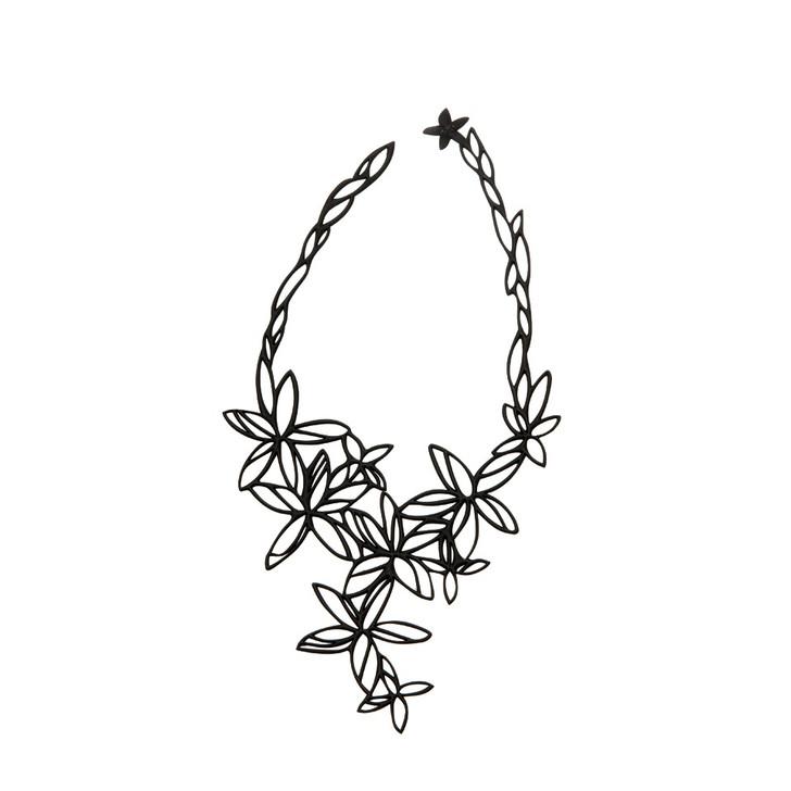 Hawaii Necklace in Black