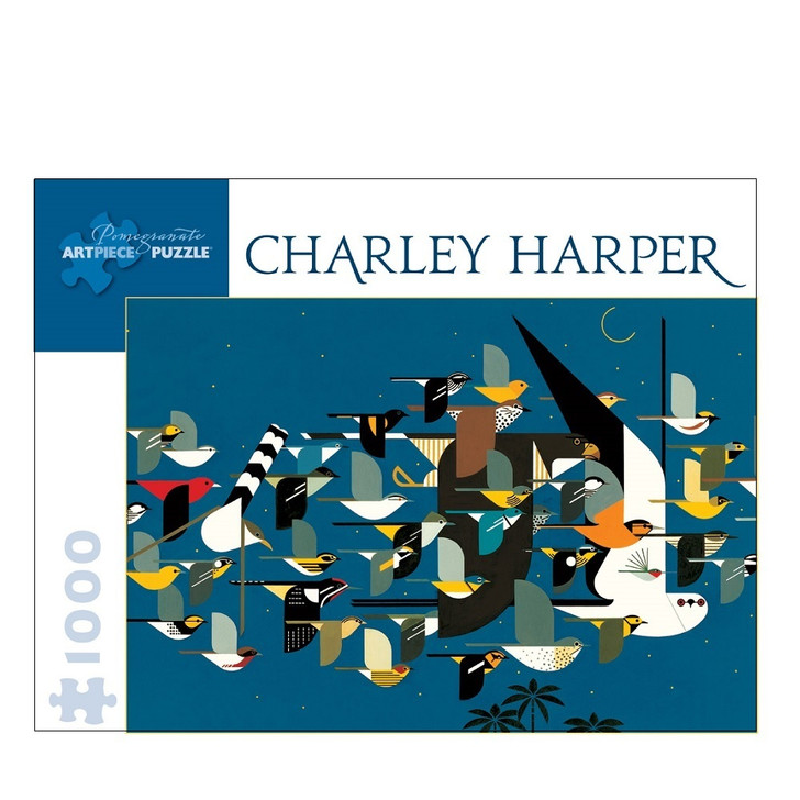 Mystery of the Missing Migrants, Charley Harper Puzzle