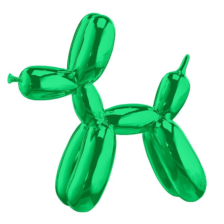 Mini Balloon Dog, Green