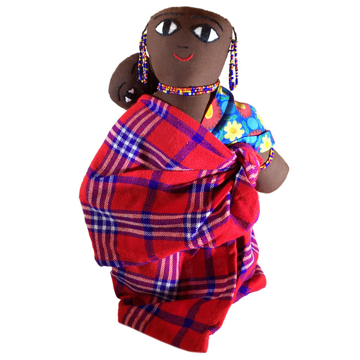 Maasai Doll Mother and Baby