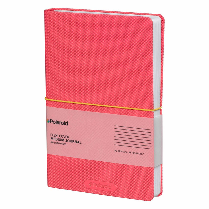 Polaroid Flexi-Cover Pink Medium Lined Journal