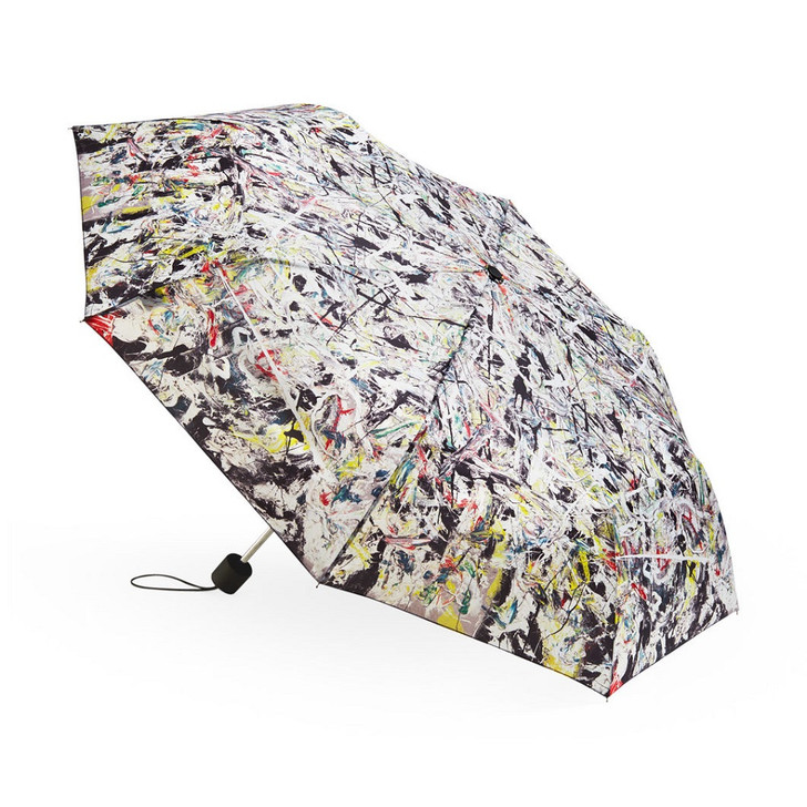Jackson Pollock White Light  Folding Umbrella