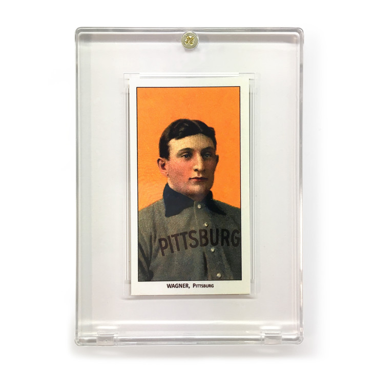 Honus Wagner Piedmont Tobacco T206 Replica Card with Case