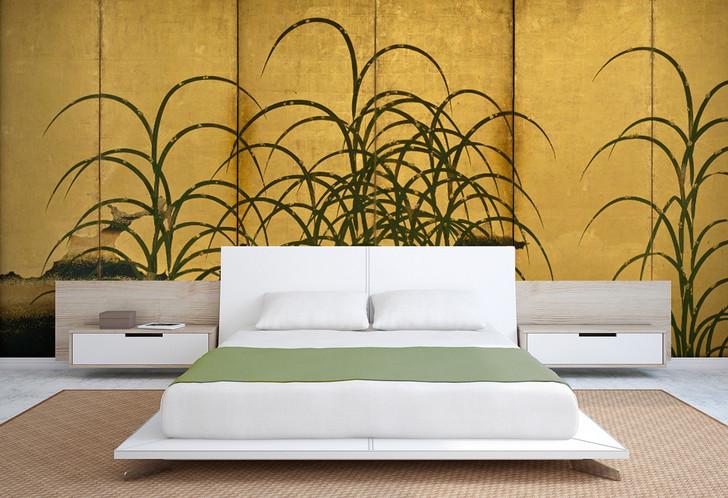 Pampas Grass Wallpaper Mural