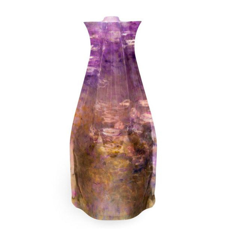 Water Lilies, Monet Expand Vase