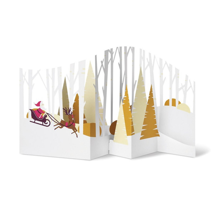 Forest Sleigh Ride Boxed Holiday Cards