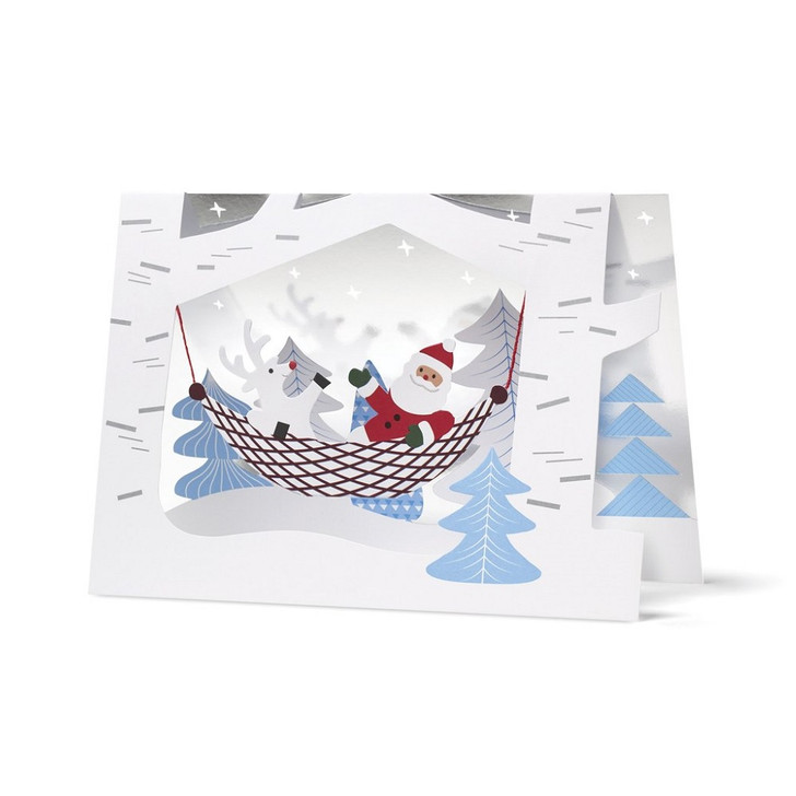 Santa's Buddy Boxed Holdiday Cards