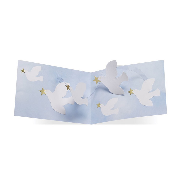 Twirling Doves Boxed Holiday Cards