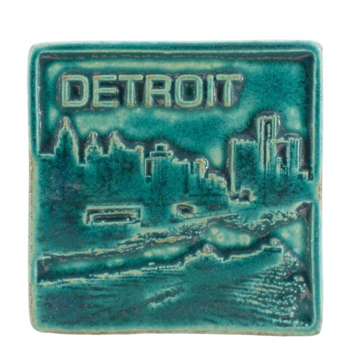 Pewabic Pottery Detroit Tile Assorted Colors