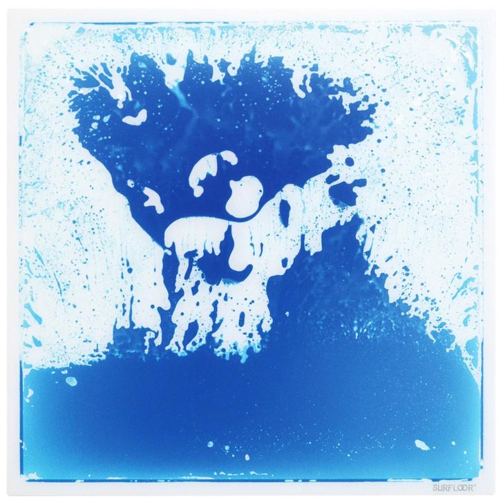 Liquid Floor Tile Blue