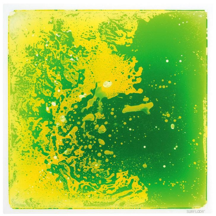 Liquid Floor Tile Green