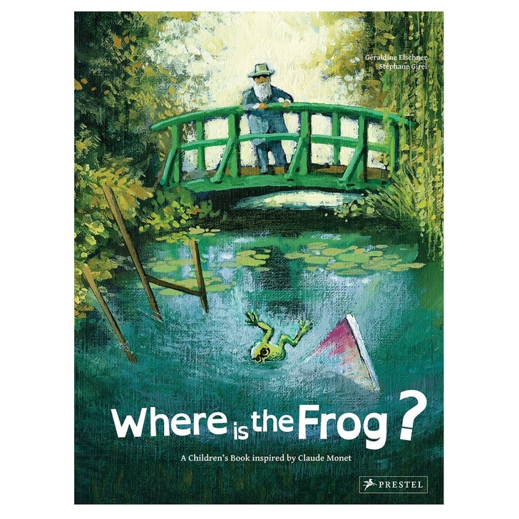 Where  is the Frog? Inspired by Claude Monet