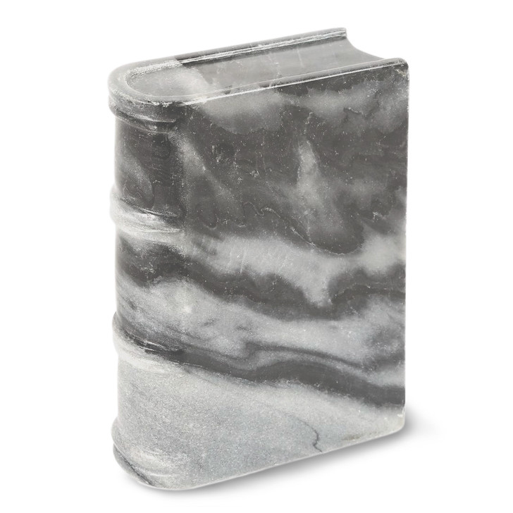 Small Gray Stone Book Weight