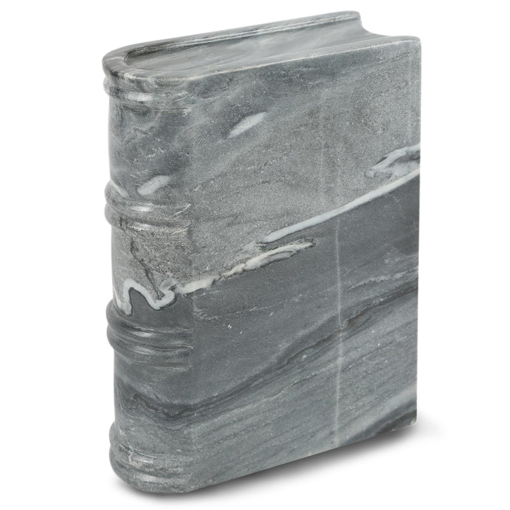 Large Gray Stone Book Weight