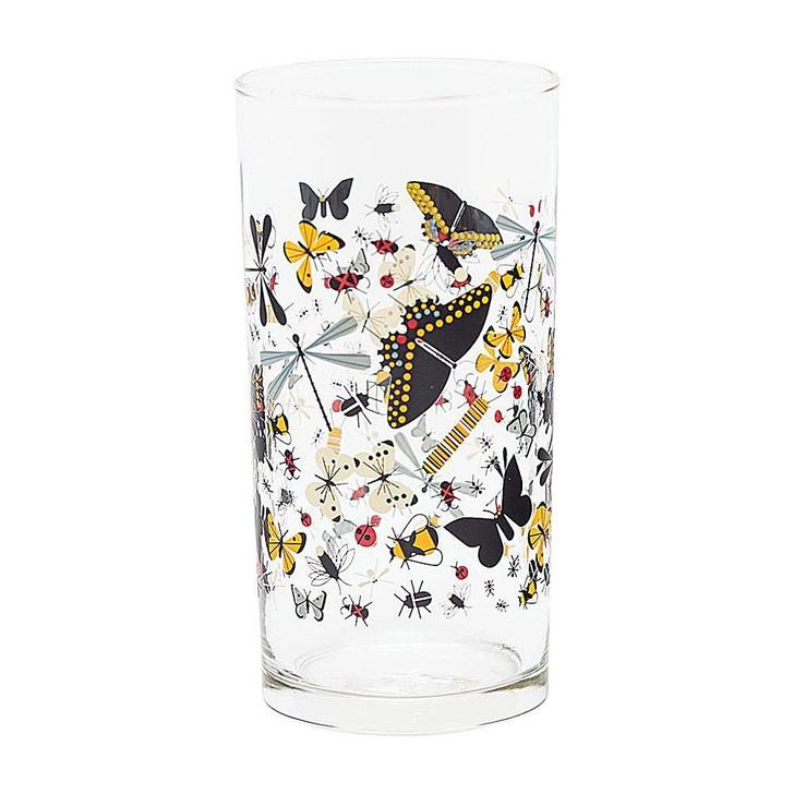 Charley Harper Butterfly Glass