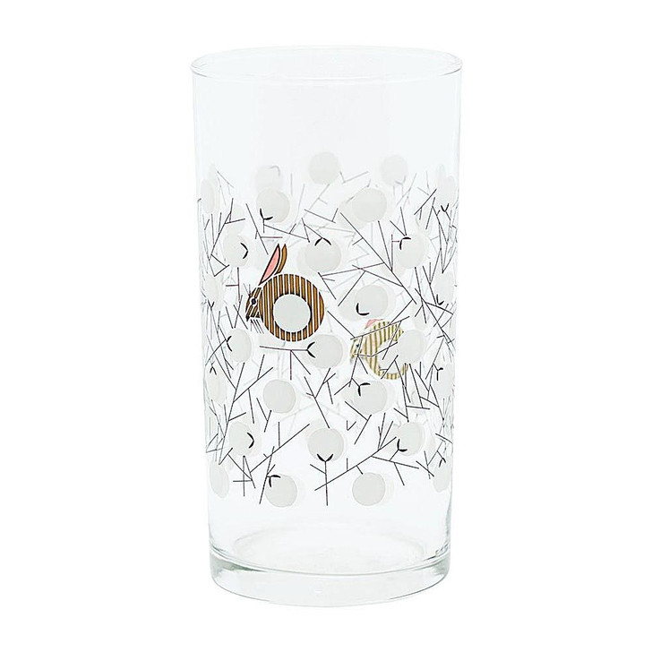 Charley Harper Cottontail Glass