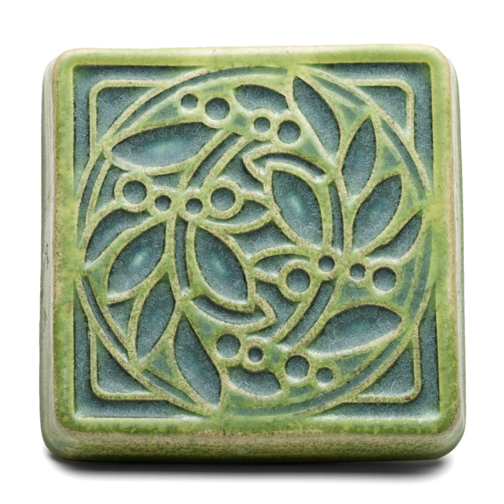 Pewabic Pottery DIA Fountain Tile Asst