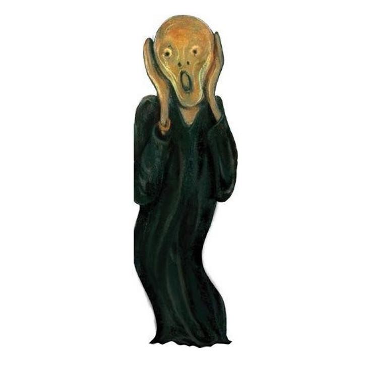 The Scream, Munch Quotable Notecard