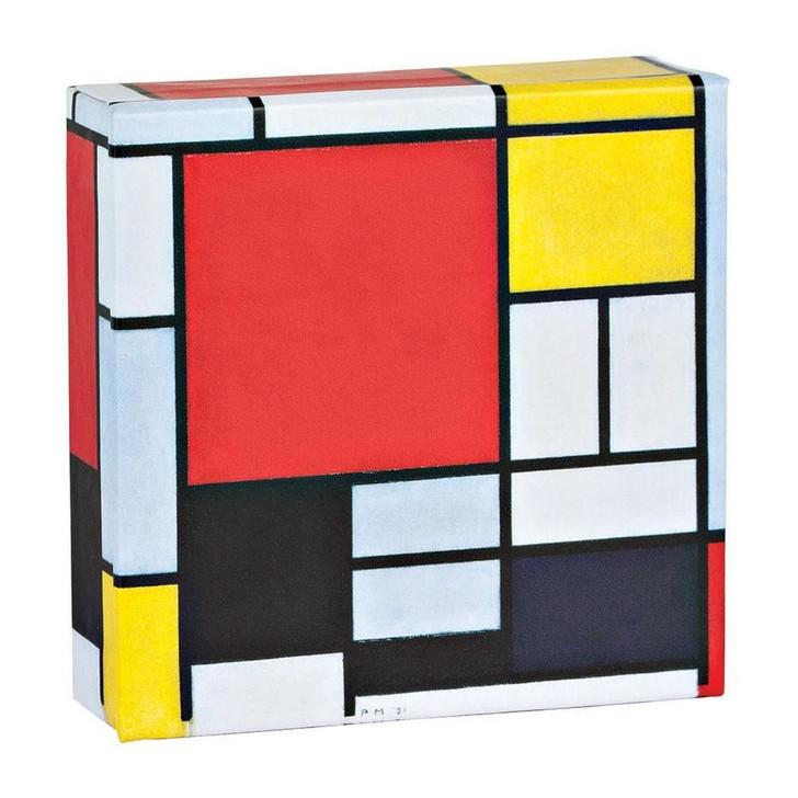 Piet Mondrian Mini Flip Top Notecard Box