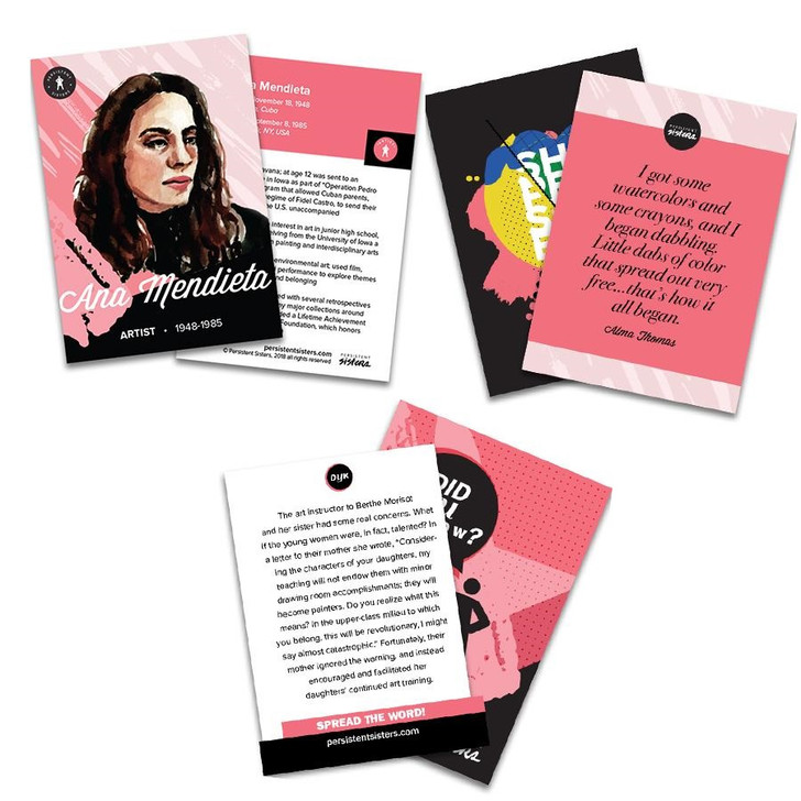 Artist Women's History Trading Cards 30-Card Deck