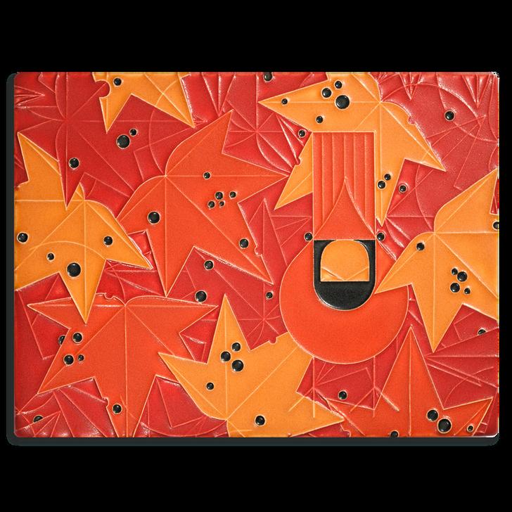 Motawi Tileworks Charley Harper Under the Sweetgum Tile 6x8