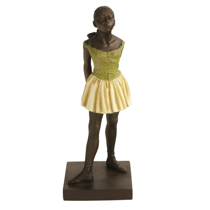 Degas Dancer Sculpture 12""