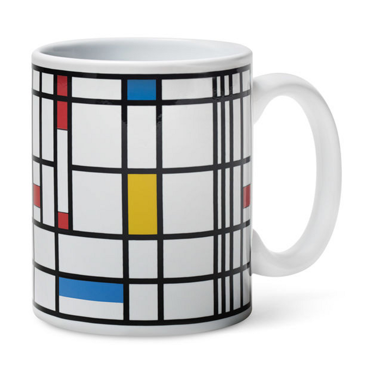 Color Changing Mondrian Mug