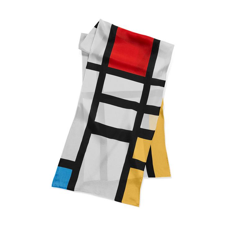Mondrian Trafalgar Scarf